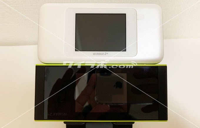 Speed Wi-Fi NEXT W06 W05 幅比較