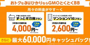 auひかり GMO